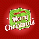De wijnoogst van Kerstmis Stock Afbeelding
