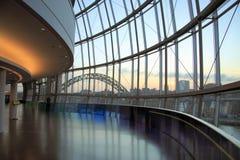 De wijze Zonsondergang van het Centrum royalty-vrije stock afbeelding