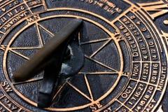 De Wijzerplaat van de zon Stock Afbeeldingen