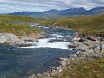 De wilde aard van Lapland royalty-vrije stock foto's