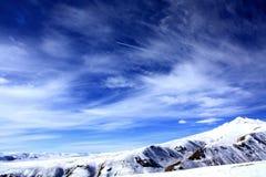 De wilde bergen van Kyrgyzstan Royalty-vrije Stock Afbeelding