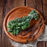 De Wilde marjolein van de Aromatischeorego vulgare Royalty-vrije Stock Afbeeldingen