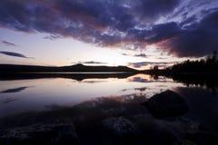 In de wildernis van Zweden Royalty-vrije Stock Foto's