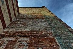 De willekeurige Bouw in Asheville, Noord-Carolina, de V.S. Royalty-vrije Stock Foto's