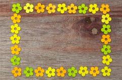 De willekeurige Dag van de Bloemenvalentijnskaarten van de Patroonliefde Stock Afbeelding