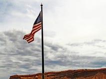 In de wind royalty-vrije stock fotografie