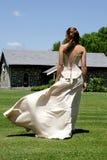 De Wind van de bruid Stock Fotografie