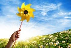 De Wind van de lente Royalty-vrije Stock Fotografie