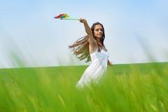 De wind van de zomer Royalty-vrije Stock Foto