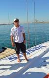 De wind van Macielcicchetti Team Vestas royalty-vrije stock foto's