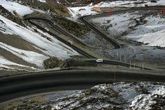De windende Weg van de Berg Royalty-vrije Stock Fotografie