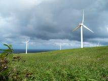 De Windlandbouwbedrijf van de Hawai Vernieuwbaar Ontwikkeling royalty-vrije stock foto's