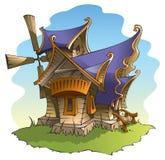 De windmolen van de fee royalty-vrije illustratie