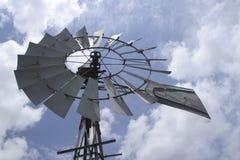 De Windmolen van het land stock foto's