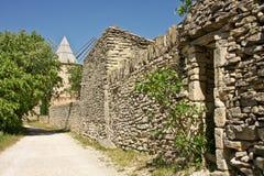 De Windmolen van Jeruzalem van Goult royalty-vrije stock afbeeldingen