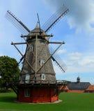 De windmolen van Kastellet in Kopenhagen Royalty-vrije Stock Afbeelding