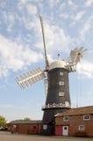 De windmolen van Skidby stock foto
