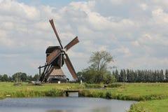 De Windmolen van Streefkerk stock fotografie