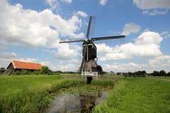 De Windmolen van Streefkerk stock afbeelding