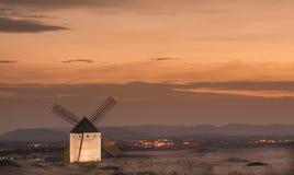 De windmolen van Toledo stock fotografie
