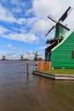 De windmolens van Holland Royalty-vrije Stock Afbeelding