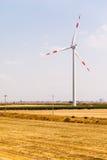 De windturbine van het land Royalty-vrije Stock Foto's