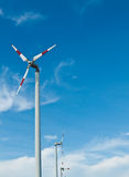 De windturbines van de Ecomacht Royalty-vrije Stock Fotografie