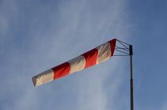 De windwijzer van de windkegel royalty-vrije stock foto
