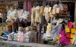 De Winkel van Bali Stock Foto