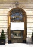 De winkel van Cartier Royalty-vrije Stock Fotografie