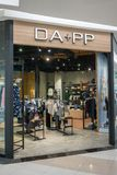 De winkel van DA + pp-bij Maniereiland, Bangkok, Thailand, brengt 22, 2018 in de war Royalty-vrije Stock Afbeeldingen