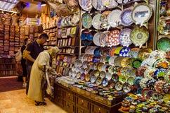 De winkel van de bazaar Royalty-vrije Stock Foto
