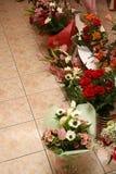 De winkel van de bloem Stock Foto