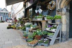 De winkel van de bloem in Gorinchem. Stock Fotografie