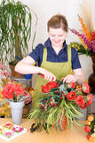 De Winkel van de bloemist Stock Foto