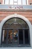 De winkel van de elandantilope bij straat Han Royalty-vrije Stock Foto's
