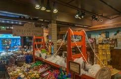 De winkel van de Ghirardellichocolade bij de Werf van de Visser Royalty-vrije Stock Afbeeldingen