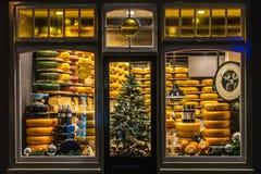 De Winkel van de Goudse kaas royalty-vrije stock fotografie