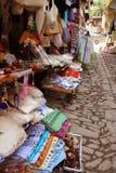 De winkel van de herinnering bij straat Royalty-vrije Stock Afbeeldingen