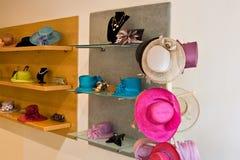 De winkel van de hoed Royalty-vrije Stock Afbeelding