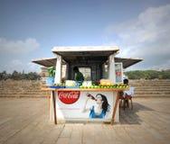 De Winkel van de kiosk Stock Foto's