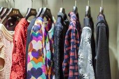 De winkel van de kleding Stock Fotografie