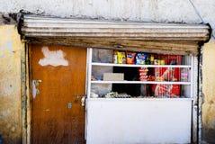 De winkel van de kruidenierswinkel in Leh Royalty-vrije Stock Afbeelding