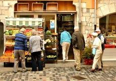 De winkel van de kruidenierswinkel in Spanje Royalty-vrije Stock Afbeelding