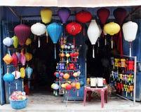 De winkel van de lantaarn Stock Fotografie