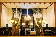 De winkel van de luxeverlichting Stock Foto's