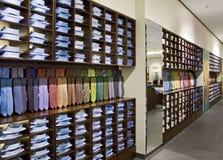 De winkel van de schoen stock afbeelding
