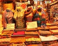 De Winkel van de sjaal stock afbeeldingen
