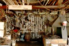 De Winkel van de smid Stock Foto's