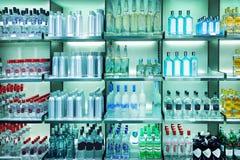 De winkel van de wijn Royalty-vrije Stock Afbeeldingen